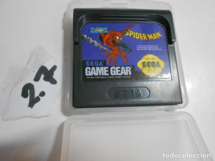 ANTIGUO JUEGO GAMEGEAR SPIDERMAN (Juguetes - Videojuegos y Consolas - Sega - GameGear)