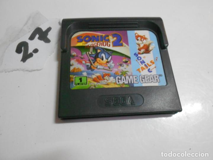 ANTIGUO JUEGO GAMEGEAR SONIC 2 (Juguetes - Videojuegos y Consolas - Sega - GameGear)