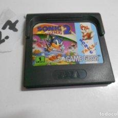 Videojuegos y Consolas: ANTIGUO JUEGO GAMEGEAR SONIC 2. Lote 207876842