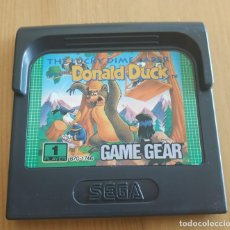 Videojuegos y Consolas: JUEGO DE CONSOLA , SEGA GAME GEAR THE LUCKY DIME CAPER STARRING DONALD DUCK. Lote 209885873