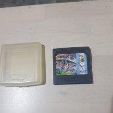 Videojuegos y Consolas: JUEGO SONIC 2 GAME GEAR SEGA. Lote 209980817