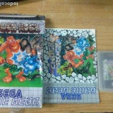 Videojuegos y Consolas: CHUCK ROCK - GAME GEAR - COMPLETO - GG - SEGA - PAL. Lote 210209948
