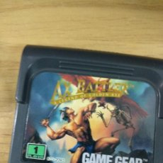 Videojuegos y Consolas: AX BATTLER - SEGA GAME GEAR - GAMEGEAR - GG - PAL. Lote 210210180