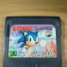 Videojuegos y Consolas: SONIC THE HEDGEHOG - SEGA GAME GEAR - GAMEGEAR - GG - PAL. Lote 210210236