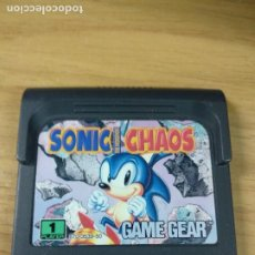 Videojuegos y Consolas: SONIC THE HEDGEHOG CHAOS - SEGA GAME GEAR - GAMEGEAR - GG - PAL. Lote 210210277