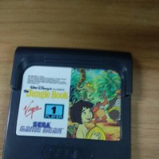 Videojuegos y Consolas: THE JUNGLE BOOK - EL LIBRO DE LA SELVA - SEGA GAME GEAR - GAMEGEAR - GG - PAL. Lote 210210308