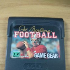 Videojuegos y Consolas: JOE MONTANA FOOTBALL - SEGA GAME GEAR - GAMEGEAR - GG - PAL. Lote 210210370