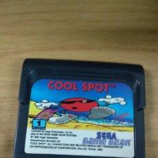 Videojuegos y Consolas: COOL SPOT - SEGA GAME GEAR - GAMEGEAR - GG - PAL. Lote 210210401