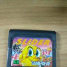 Videojuegos y Consolas: SLIDER - SEGA GAME GEAR - GAMEGEAR - GG - PAL. Lote 210210412