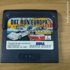 Videojuegos y Consolas: OUT RUN EUROPA - SEGA GAME GEAR - GAMEGEAR - GG - PAL. Lote 210210502