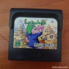 Videojuegos y Consolas: LEMMINGS GAME GEAR CARTUCHO. Lote 211827118
