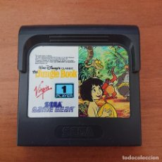 Videojuegos y Consolas: THE JUNGLE BOOK GAME GEAR CARTUCHO. Lote 211827227