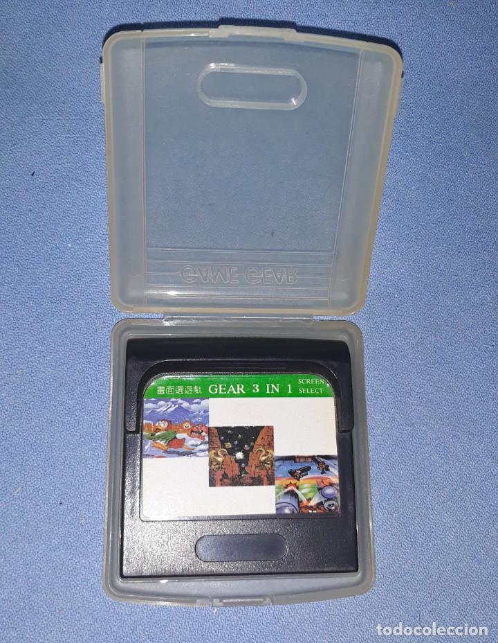 JUEGO GEAR 3 IN 1 DE SEGA GAME GEAR ORIGINAL (Juguetes - Videojuegos y Consolas - Sega - GameGear)