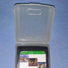 Videojuegos y Consolas: JUEGO GEAR 3 IN 1 DE SEGA GAME GEAR ORIGINAL. Lote 212962275