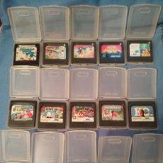 Videojuegos y Consolas: LOTE 15 JUEGOS ORIGINALES SEGA GAME GEAR. Lote 213357566