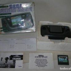 Videojuegos y Consolas: CONSOLA SEGA GAME GEAR EN SU CAJA, CON SU CORCHO, INSTRUCCIONES Y JUEGO COLUMNS - VER Y LEER -. Lote 213701122