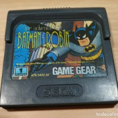 Videojuegos y Consolas: JUEGO DE CONSOLA , SEGA GAME GEAR , GAMEGEAR THE ADVENTURES OF BATMAN Y ROBIN. Lote 214479597