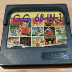 Videojuegos y Consolas: JUEGO DE CONSOLA , SEGA GAME GEAR , GAMEGEAR 68 IN 1 RARO. Lote 214480006