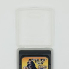 Videojogos e Consolas: INDIANA JONES AND THE LAST CRUSADE SEGA GAME GEAR. Lote 217625070