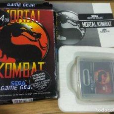 Videojuegos y Consolas: MORTAL KOMBAT - SEGA GAME GEAR. Lote 217734522