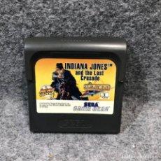 Videojuegos y Consolas: INDIANA JONES AND THE LAST CRUSADE SEGA GAME GEAR. Lote 217636088