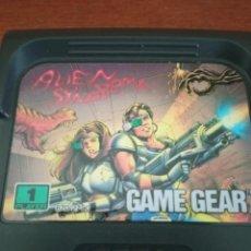 Videojuegos y Consolas: JUEGO ALIEN SYNDROME PARA GAME GEAR CON FUNDA ORIGINAL. Lote 219388560
