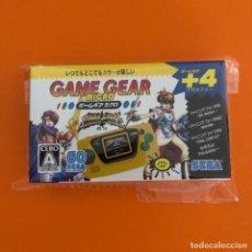 Videojuegos y Consolas: SEGA GAME GEAR MICRO AMARILLA. Lote 220901578