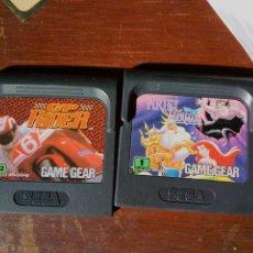Videojuegos y Consolas: LOTE DOS JUEGOS SEGA GAME GEAR. Lote 223442282