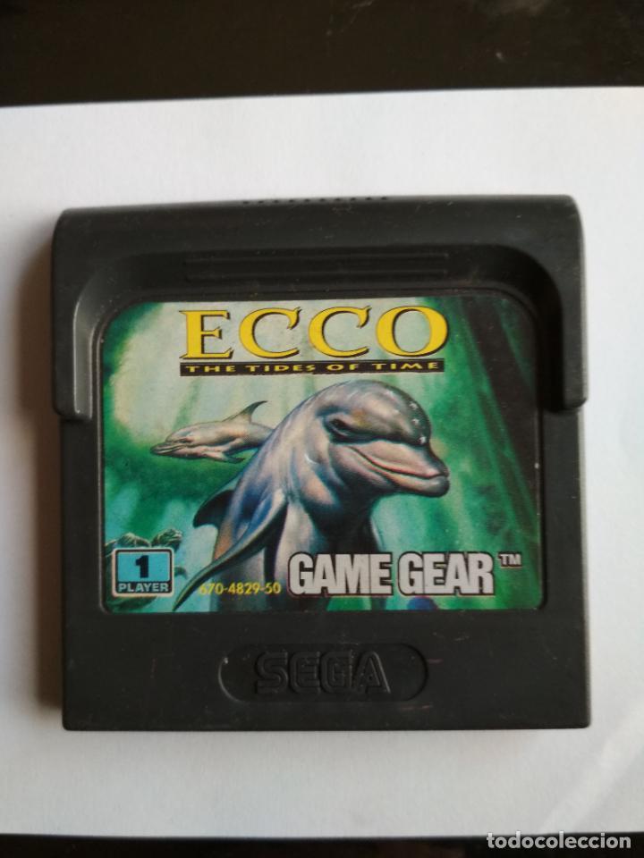 JUEGO ECCO THE TIDES OF TIME SEGA GAMEGEAR (Juguetes - Videojuegos y Consolas - Sega - GameGear)