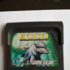 Videojuegos y Consolas: JUEGO ECCO THE TIDES OF TIME SEGA GAMEGEAR. Lote 224582200