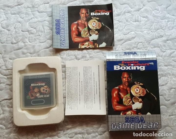 EVANDER HOLYFILED´S BOXING (SEGA GAME GEAR) (Juguetes - Videojuegos y Consolas - Sega - GameGear)