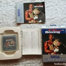 Videojuegos y Consolas: EVANDER HOLYFILED´S BOXING (SEGA GAME GEAR). Lote 225168631