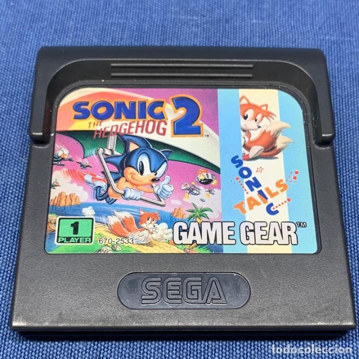 VIDEOJUEGO SEGA - GAMEGEAR - GAME GEAR - SONIC 2 (Juguetes - Videojuegos y Consolas - Sega - GameGear)