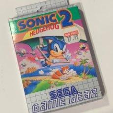 Videojuegos y Consolas: JUEGO SEGA GAME GEAR SONIC 2 EN CAJA ORIGINAL. Lote 228387450