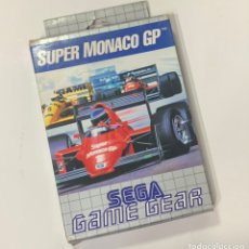 Videojuegos y Consolas: JUEGO SEGA GAME GEAR SUPER MONACO GP EN CAJA. Lote 228388320