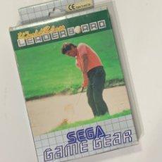 Videojuegos y Consolas: JUEGO SEGA GAME GEAR SUPER WORLD CLASS LEADER BOARD EN CAJA. Lote 228390040