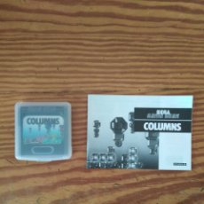 Videojuegos y Consolas: JUEGO GAME GEAR COLUMNS Y INTRUCCIONES. Lote 229019880