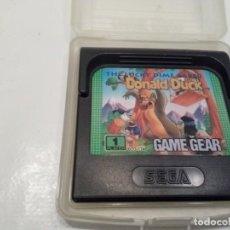Videojuegos y Consolas: THE LUCKY DIME CAPER STARRING DONALD DUCK SEGA GAME GEAR.. Lote 232137290