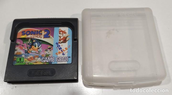 JUEGO CONSOLA SEGA GAME GEAR , SONIC THE HEDGEHOG 2 , CON FUNDA (Juguetes - Videojuegos y Consolas - Sega - GameGear)