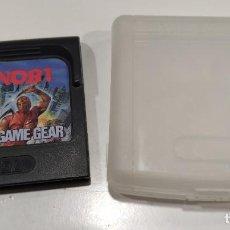 Videojuegos y Consolas: JUEGO CONSOLA SEGA GAME GEAR , SHINOBI , CON FUNDA. Lote 234390340