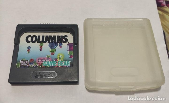 JUEGO CONSOLA SEGA GAME GEAR , COLUMNS , CON FUNDA (Juguetes - Videojuegos y Consolas - Sega - GameGear)