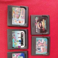 Videojuegos y Consolas: JUEGOS GAME GEAR. Lote 235962720