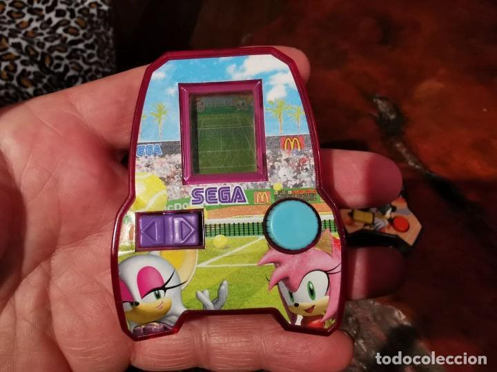 Videojuegos y Consolas: 2 MáquinaS juego video consola mini sega McDonald 2005, TENIS Y BASQUET - Foto 2 - 238092175