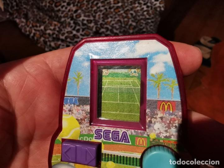 Videojuegos y Consolas: 2 MáquinaS juego video consola mini sega McDonald 2005, TENIS Y BASQUET - Foto 3 - 238092175