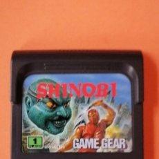 Videojuegos y Consolas: JUEGO SHINOBI PARA CONSOLA GAME GEAR. Lote 238151020