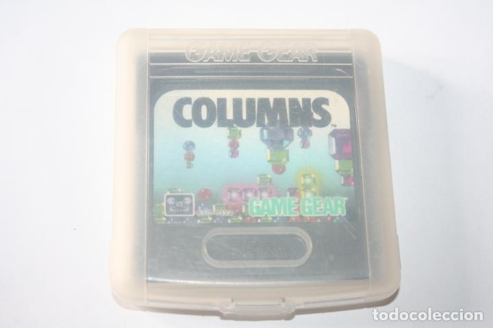 Videojuegos y Consolas: COLUMNS * VIDEOJUEGO CONSOLA GAME GEAR (SEGA) + ESTUCHE ORIGINAL * - Foto 2 - 241116240