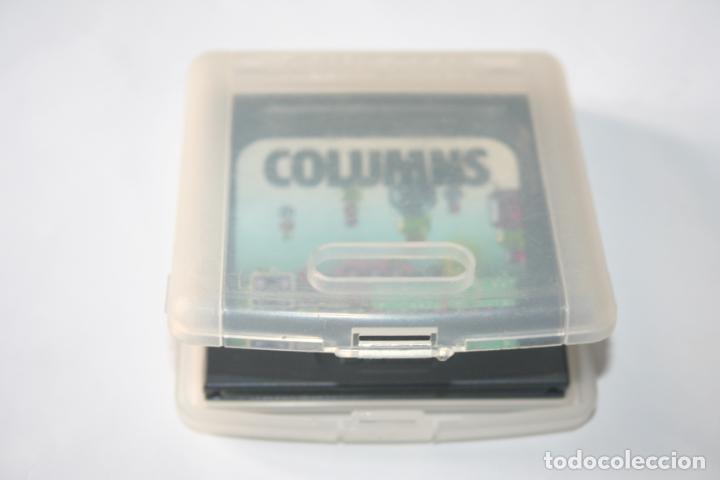 Videojuegos y Consolas: COLUMNS * VIDEOJUEGO CONSOLA GAME GEAR (SEGA) + ESTUCHE ORIGINAL * - Foto 4 - 241116240