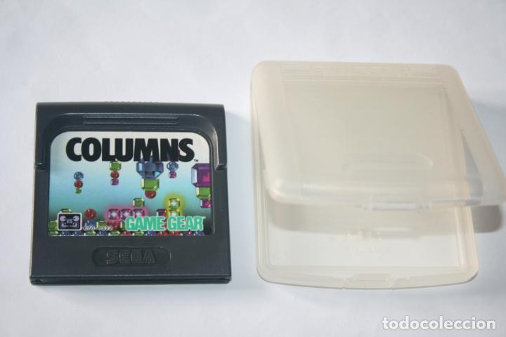 Videojuegos y Consolas: COLUMNS * VIDEOJUEGO CONSOLA GAME GEAR (SEGA) + ESTUCHE ORIGINAL * - Foto 5 - 241116240