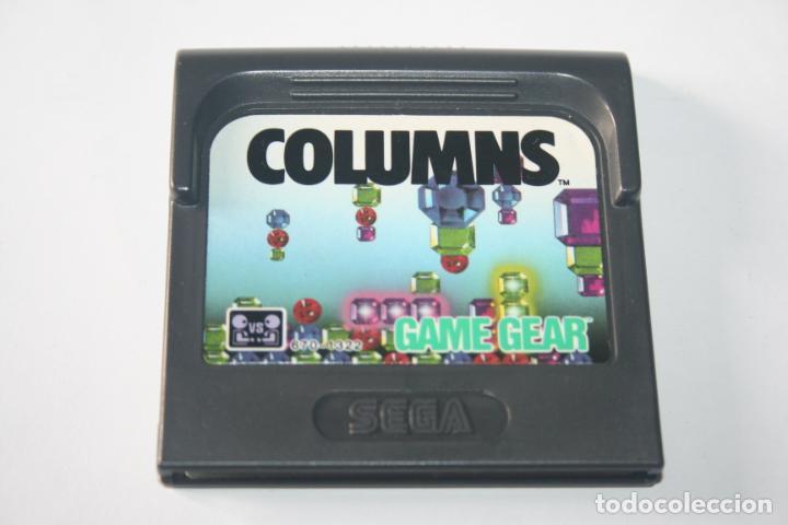 COLUMNS * VIDEOJUEGO CONSOLA GAME GEAR (SEGA) + ESTUCHE ORIGINAL * (Juguetes - Videojuegos y Consolas - Sega - GameGear)