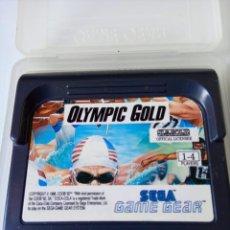 Videojuegos y Consolas: OLYMPIC GOLD BY U.S. GOLD 1988 - SEGA GAME GEAR. Lote 242009540